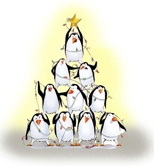 Penguin Christmas Tree: Idolatry 12: Father Christmas, A Case Study