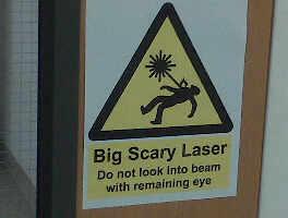 Laser Sign