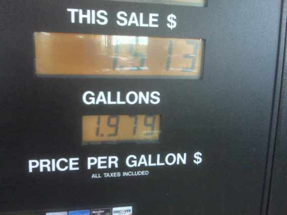 Filled Up For Less Than $20