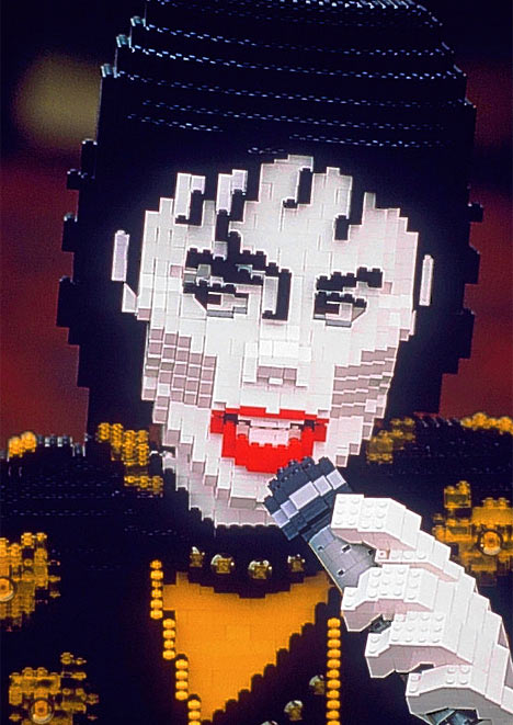 MJ In Lego